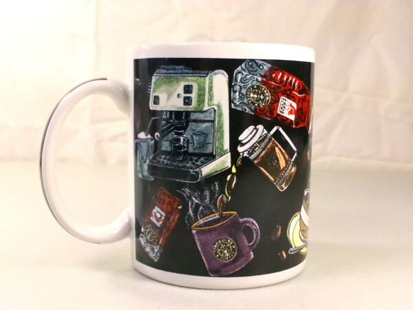 Starbucks Coffee Mug Cup Coffee Machine Brewer Pots Motif