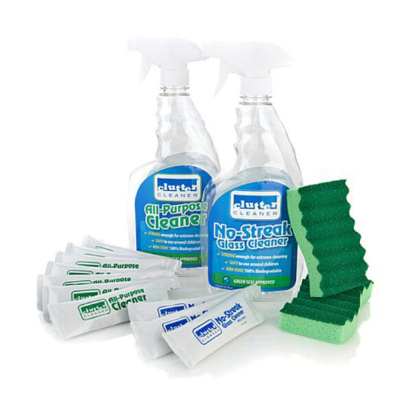 Natural Cleaning System Kit For Glass Granit Cabinet Sink Bathroom Kitchen ECO $6.50