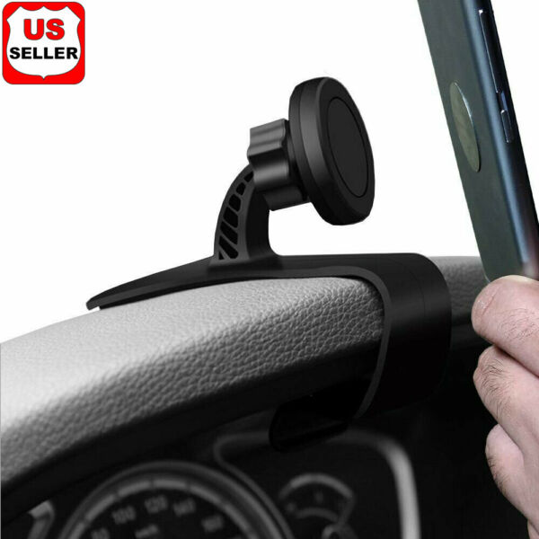Magnetic Car Dashboard Mount Holder Stand HUD Design Cradle for Cell Phone GPS