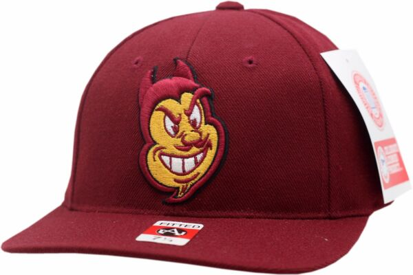 Arizona State Sun Devils Fitted Hat Alter Ego Logo Block AS5054