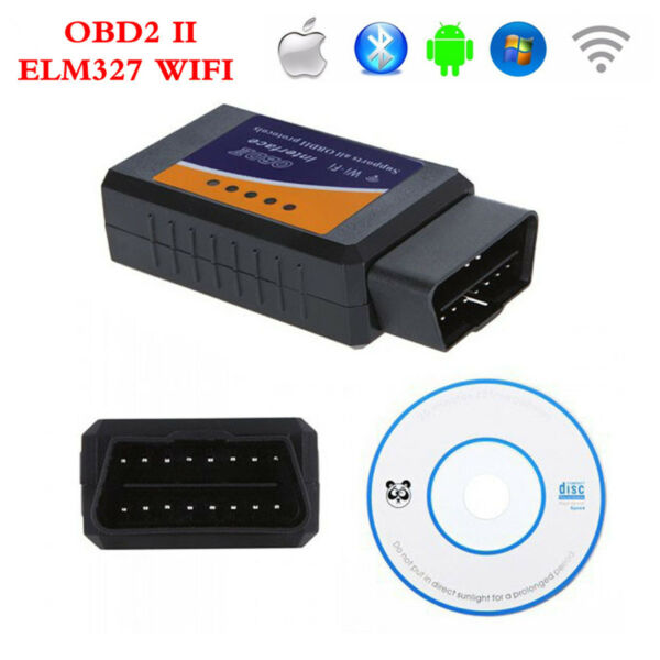 ELM327 Wifi Wireless OBD2 OBDII Interface Auto Car Diagnostic Scanner Scan Tool