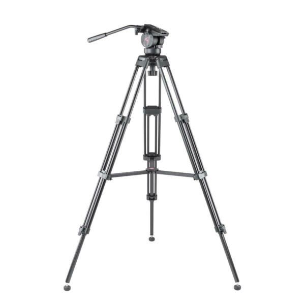 3Pod V3AH Video Tripod with 2 way Fluid Head Quick Release Plate #3P V3AH