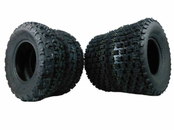 4 Yamaha Raptor 350 250 660 700 MassFx Front and Rear Tires 21x7 10 20x10 9 $189.99