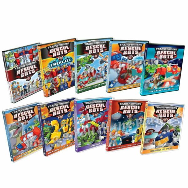 Transformers Rescue Bots: TV Series Complete 10 Volume Box / DVD Set(s) NEW!