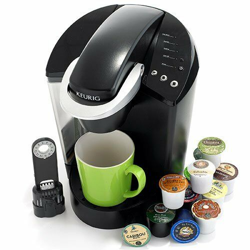 New Keurig K45 Elite Brewing System Single Serve Coffee Maker Brewer (Black)