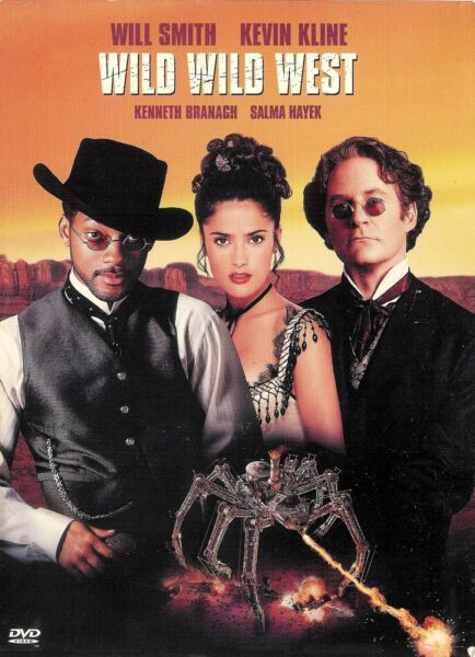 Wild Wild West ~ Will Smith Salma Hayek Kevin Kline ~ DVD WS ~ FREE Shipping USA