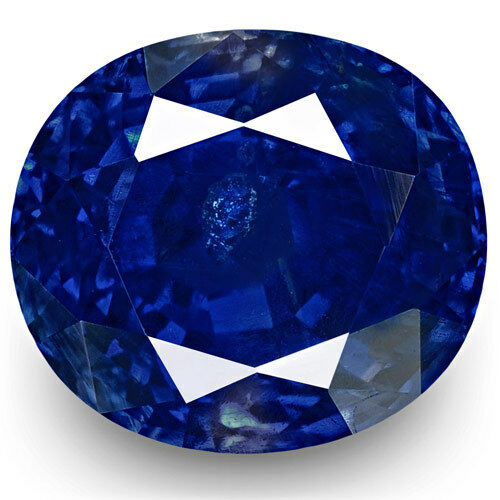 SSEF GIA GRS Certified KASHMIR Blue Sapphire 5.78 Cts Natural Untreated Oval