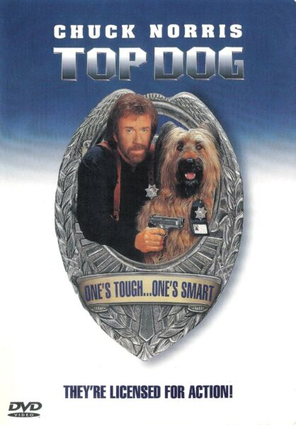 Top Dog Chuck Norris DVD WS FREE Shipping USA $12.99