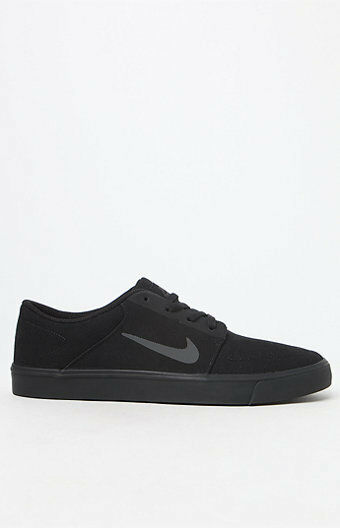 MEN'S GUYS NIKE SB PORTMORE CANVAS SKATEBOARDING SHOES SNEAKERS NEW $85 002