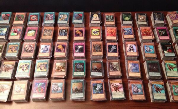 1000 YUGIOH CARDS ULTIMATE LOT YU-GI-OH COLLECTION - 50 HOLO FOILS