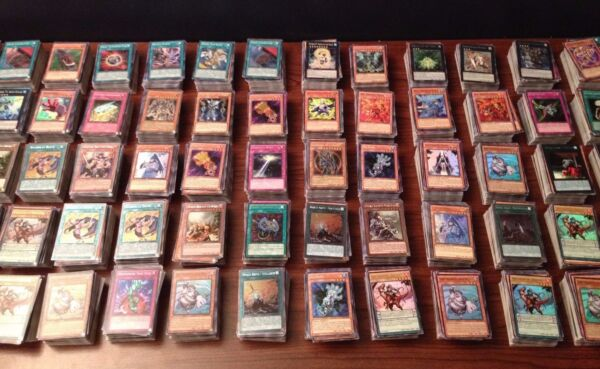 1000 YUGIOH CARDS ULTIMATE LOT YU GI OH COLLECTION WITH 50 HOLO FOILS amp; RARES