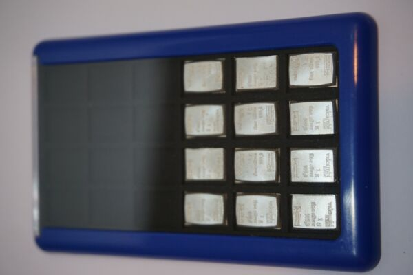 Element Card Gold Bullion Case for Valcambi Combibars 12g Silver 1 Case Included