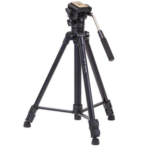 Takama 66quot; 3 Section Video Tripod with Fluid Head 10 Lbs Capacity #TAK V3300
