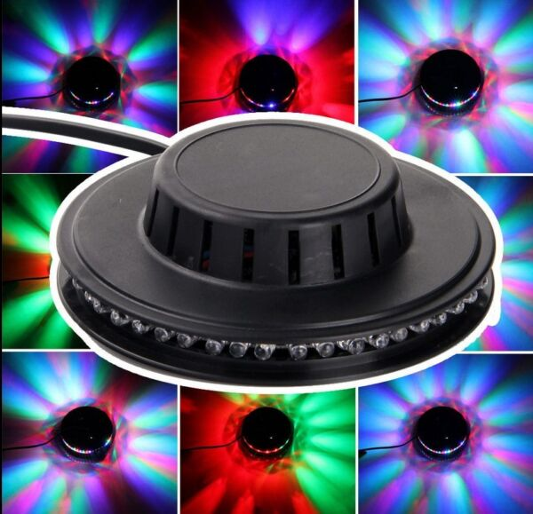 48 LEDs RGB Stage Lighting Bar Party Disco DJ Light Effect Auto Voice activated