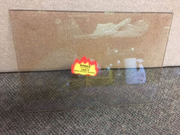 HARMAN OAKLEAF WOODSTOVE REPLACEMENT GLASS