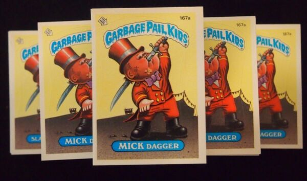 Garbage Pail Kids Series 5 Complete Set 80 Cards 167-206 ab CLEAN FREE SHIPPING