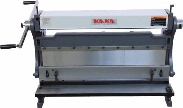 KAKA 30-In Sheet Metal Brake 3-In-1 Shear Brake Roll Combinations  20 Gauges