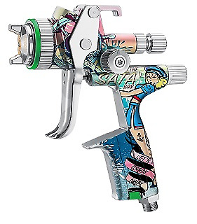 SATA Jet 5000B PAINT SPRAY GUN HVLP 1.3 WITH RPS HOUSE OF KOLOR EDITION