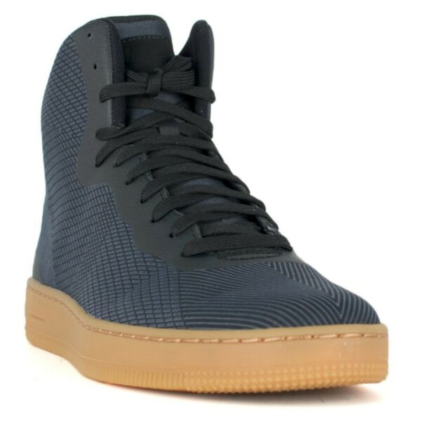 NEW GENUINE Nike Men's Size 8.5 NSW PRO STEPPER Black High Top Shoes 776086-003