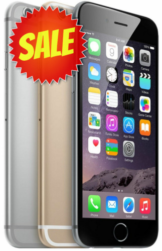 Apple iPhone 6 (Factory Unlocked) AT&T Verizon TMobile Sprint 16GB 64GB 128GB.