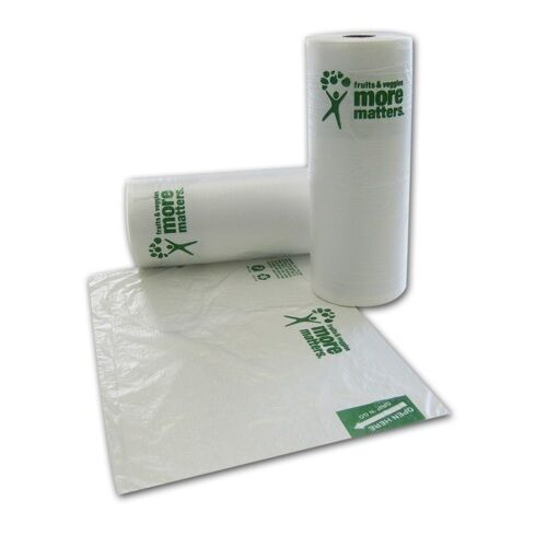 SafePro 1220P 12x20-Inch Produce Bags 400-Piece Roll