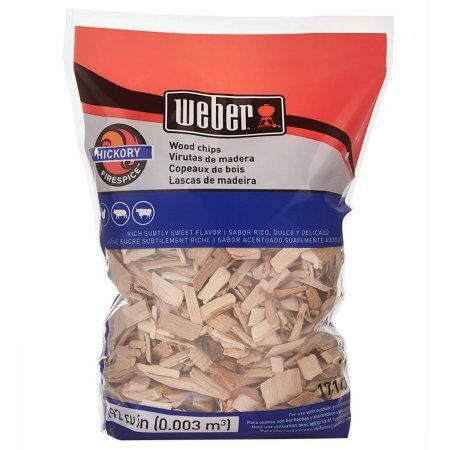 Weber Hickory Wood Chips 2 lb W