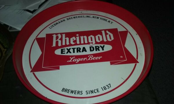 Rheingold Beer tray
