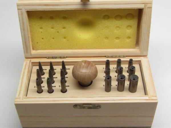 18 Stone Setting Burnisher Set Jewelers Tools Bezel Pusher