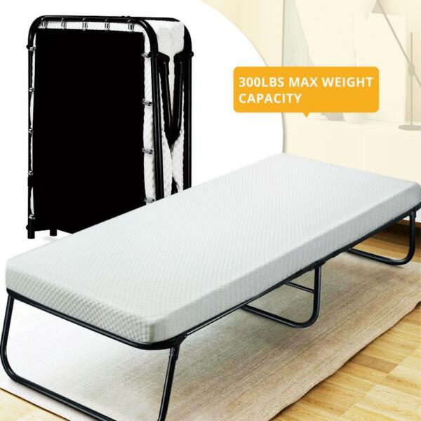 Quictent Folding Guest Bed With Mattress & Storage BagPortable BedCotDaybed