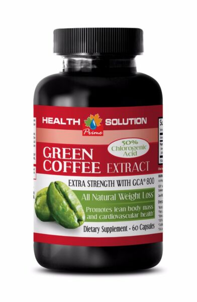 Green coffee bean powder GREEN COFFEE  EXTRACT 800 Pills for Weight loss 1B