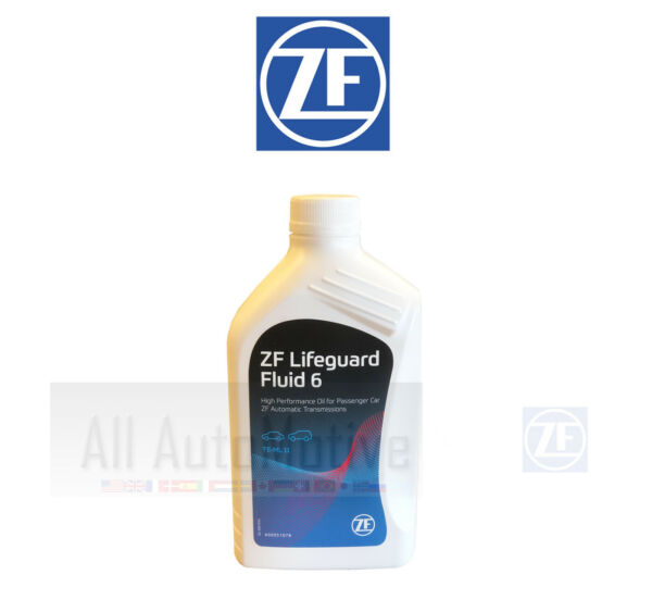 1 Liter OEM ZF Lifeguard 6 Automatic Transmission Fluid S671090255