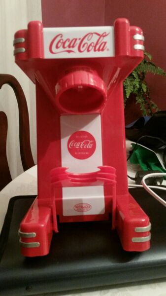 Nostalgia Electrics Coca Cola Series Single Snow Cone Maker RSM702COKE
