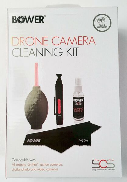 NEW Bower 4 pc DRONE Essential Camera Cleaning Kit SCS-CK4 lens sky GoPro video