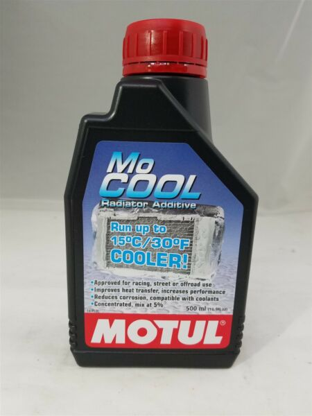 107798 Motul MoCool .5 Liter Engine Cooling Additive Reduce Engine Temp. by 30'F