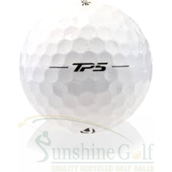 24 AAA TaylorMade TP5 Used Golf Balls (3A) - FREE SHIPPING