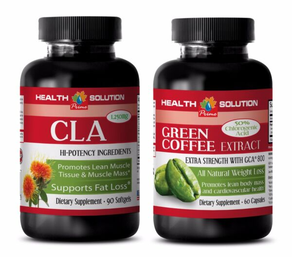 Fat loss program - CLA - GREEN COFFEE GCA800 COMBO - green coffee lost weight