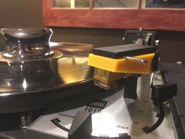 Best Audio TK 12 Cartridge Holder Dual 1019 Turntable and More in Yellow