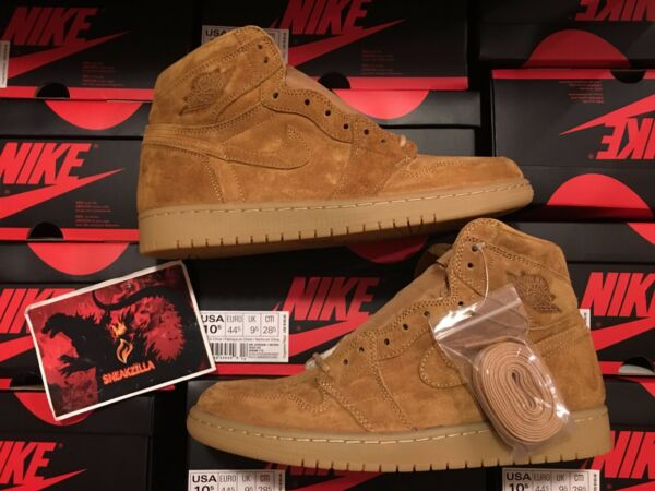Nike Air Jordan Retro I 1 HIGH OG GOLDEN HARVEST Wheat Gum 555088-710 Sz 8-13