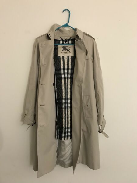 burberry trench coat woman's size 10 $900.00