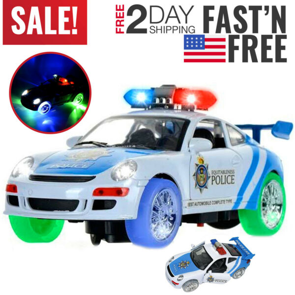 Toys for Boys Police Car Truck Kids 3 4 5 6 7 8 9 Year Old Age Car Cool Toy