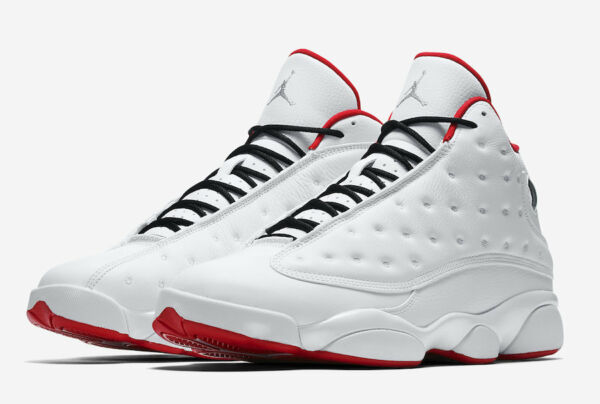 Nike Air Jordan Retro 13 XIII History Of Flight Size 4-18 White Red 414571-103