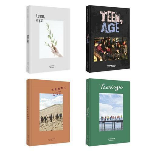 SEVENTEEN - VOL 2 TEEN AGE ALBUM (SELECT VER)+ POSTER OPTIONS [KPOPPIN USA] KPOP