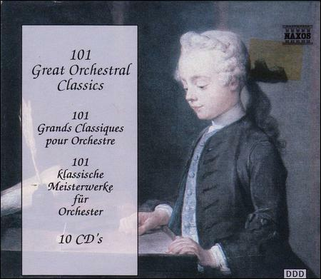 101 Great Orchestral Classics Various Artists Very Good Box set