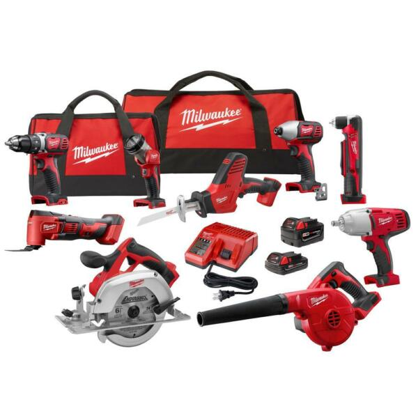 Milwaukee M18 9 Tool Combo Kit 2695-29 CX Cordless Lithium Ion - BRAND NEW !!!