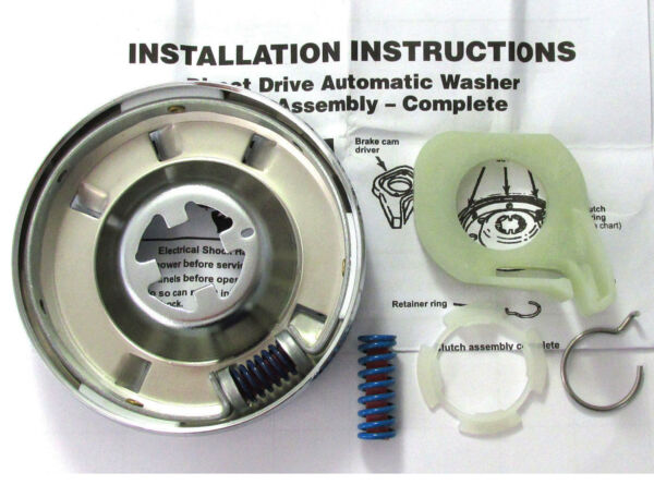 Whirlpool Kenmore Roper KitchenAid Washer Clutch (Check Model Fit List Below)