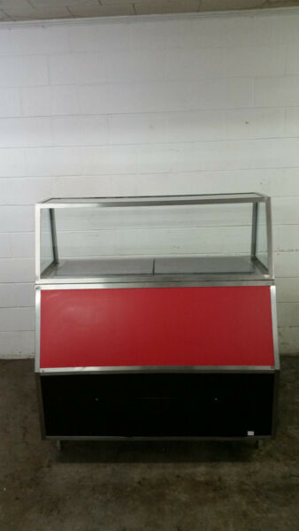CSC World Wide Display Deli Case SBSRRFP5448S4 Refrigerated Tested 120V
