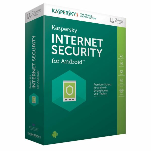 KASPERSKY INTERNET SECURITY for Android 1 GERÄTE/DEVICES 1Jahr Mobile