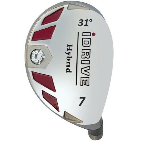 iDRIVE Hybrid .370 (choose 1-2-3-4-5-6-7-8-9-PW-SW-LW) Rescue CLUB HEAD ONLY