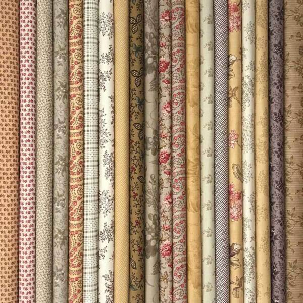 Moda Fabrics 20 Fat Quarters From 4 Different Collections Exclusive Offer