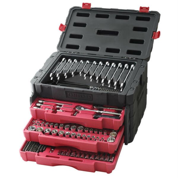 Craftsman 450 Piece Mechanic's Tool Set With 3 Drawer Case Box # 311 254 230 NEW